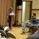 Speaking at County Forum