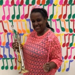 Kimberly with Trumpet
