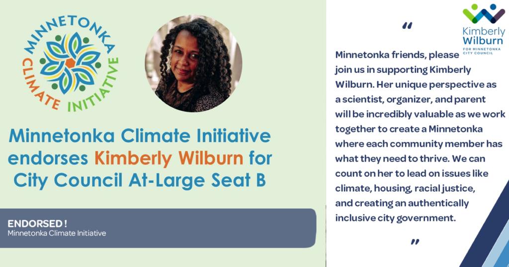 Minnetonka Climate Initiative Endorsement