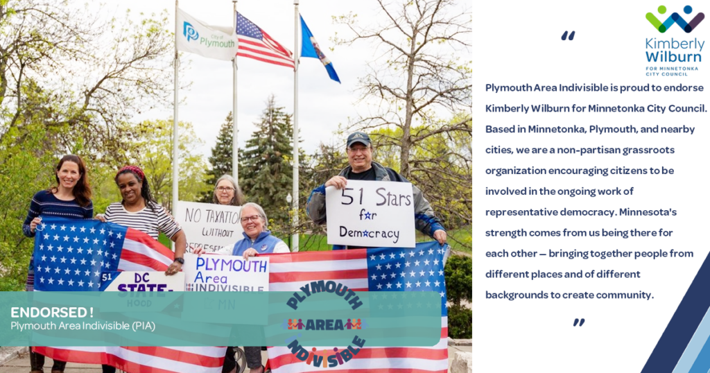 Plymouth Area Indivisible Endorsement